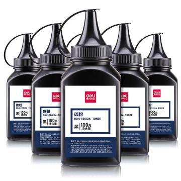 得力DBH-F2612A-6六瓶装特惠碳粉套装(黑)(6瓶/套)(单位:套)